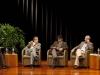 Harry Belevan-McBride, Marco Martos, José Güich (moderador), Jorge Eduardo Benavides y Ricardo González Vigil.