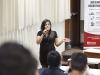 Gabriela Merino, del Ministerio de Trabajo y Promoción del Empleo.