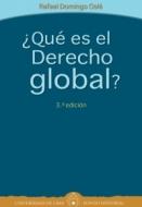 ¿Qué es el Derecho global?