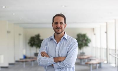 George Alvites (Administración) es CCO de la escuela de emprendedores Team Academy Peru.
