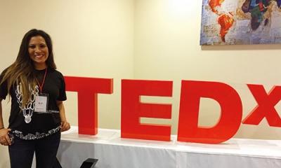 Ana Romero (Comunicación) organiza dos eventos de TEDx en Lima.