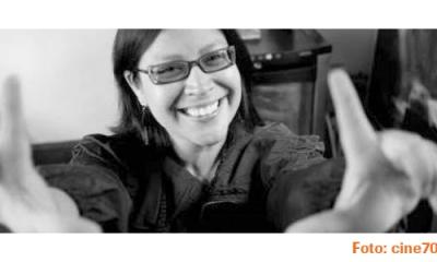 """Enid """"Pinky"""" Campos (Comunicación), reconocida productora de cine."""