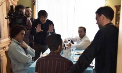 Daniel Vega (centro, de pie) presentará una película en la Semana del Cine.
