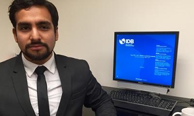 Armando Gonzales, alumno de Economía de la Ulima.
