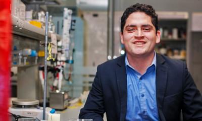 Renato Montenegro Ayo, alumno de Ingeniería Industrial e investigador.