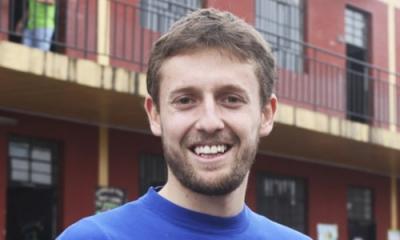 Nicholas Harmsen (Ingeniería Industrial) es director de Crea+ Perú, organización de voluntariado.