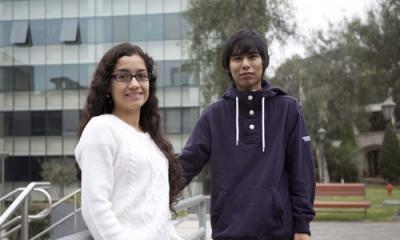 Diana Silva Regalado y Kevin Gonzales Gonzales.