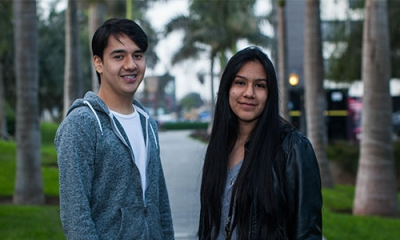 Alonso Ramírez y Carla García estudiarán ambos Ingeniería Industrial.