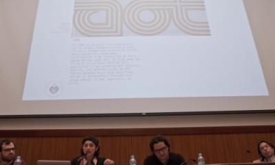 Los expositores en la conferencia sobre AOT.