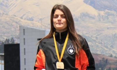 Paola Mautino, alumna de Psicología y atleta de la Ulima.