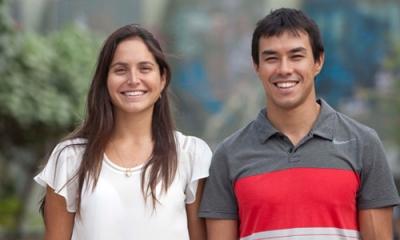 Andrea Castillo (Administración) y Salvador Ruiz-González (Ingeniería Industrial).
