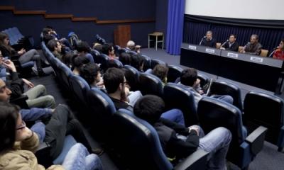 Ricardo Vizcarra, Luis Enrique Cam, Nelson García y Fabiola Sialer en la Ventana Indiscreta.