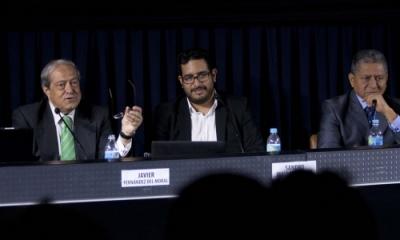 Javier Fernández, Sandro Mairata y Jesús Miguel Flores.
