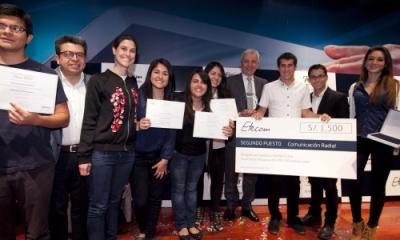 Nuestros alumnos de Comunicación destacaron en Etecom Perú 2014.