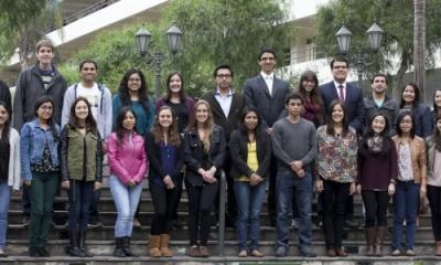 Alumnos Ulima que participaron en el intercambio 2013.