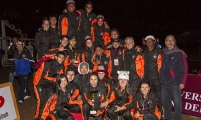 Equipo de atletismo Ulima.