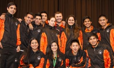 Nuestro equipo de tenis de mesa.