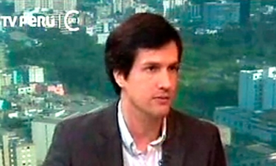 Wilson Hernández Breña en TV Perú.