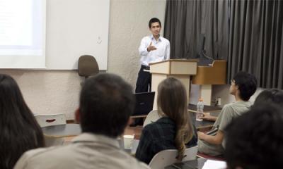 Walter Miguel Cuba Rojas (en la foto) ha apoyado en esta investigación del profesor Hernández Breña.