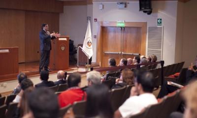 Juan José Marthans (Economía) tuvo un reencuentro con sus colegas Ulima.