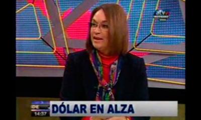 La profesora Patricia Stuart en ATV.