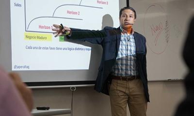 Jorge Peralta, profesor del MBA Ulima, en el Desayuno Empresarial.
