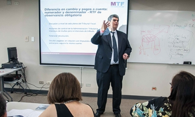 David de la Torre Delgado, profesor de la MTF de la Ulima.