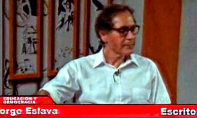 El profesor Jorge Eslava en RBC.