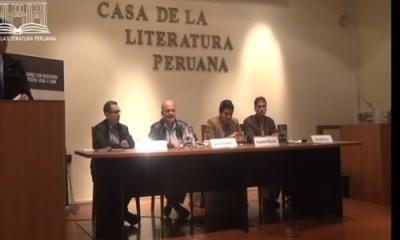 El profesor Camilo Fernández en la Casa de la Literatura.