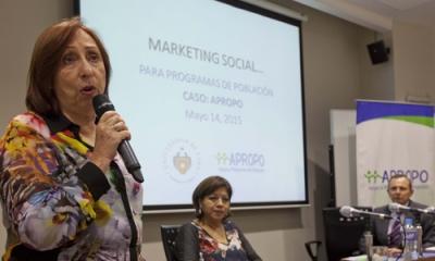 Carola La Rosa y Teresa López explicaron cómo Apropo emplea técnicas del marketing para fines sociales.