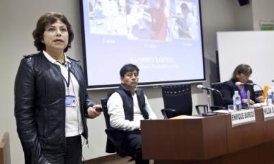 Hilda Salazar, Enrique Burgos y Rosa Luz Sánchez.