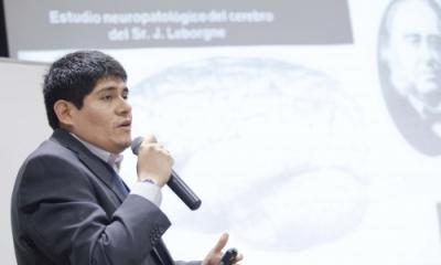 José Cuenca, psicólogo clínico.
