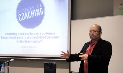 El 'coach' José Josán en la Ulima.
