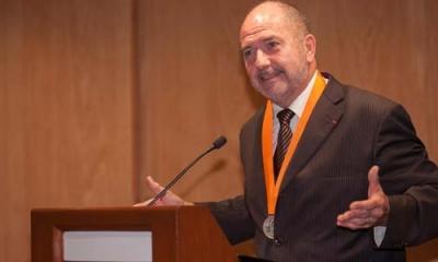 Jacques Fontanille en la Ulima.