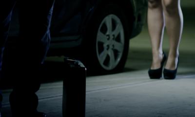 Fotograma del corto 'Extraño hombre', de Marco Melgar.