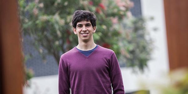 Sebastián Masías Brandes, alumno de Economía.