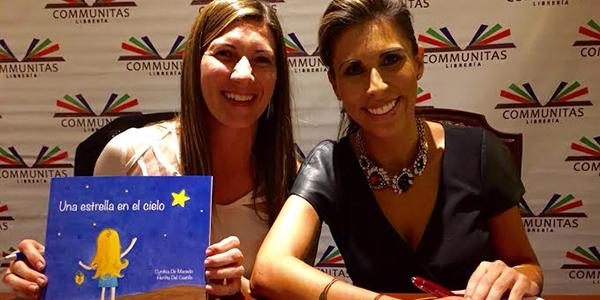 Cynthia de Macedo y Herlita del Castillo, psicólogas Ulima y autoras del cuento infantil 'Una estrella en el cielo'.