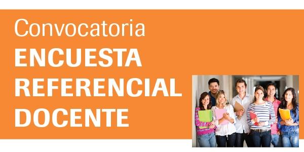 Convocatoria encuesta referencial docente 2014 2 for Convocatoria docente
