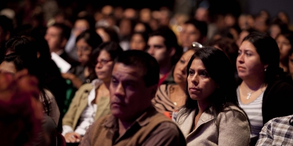 Público asistente al Auditorio ZUM.