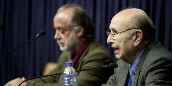 Manongo Mujica y Armando Sánchez Málaga.