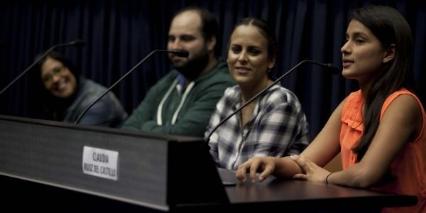 Claudia Ruiz del Castillo recordó el 'casting' en Pucallpa.