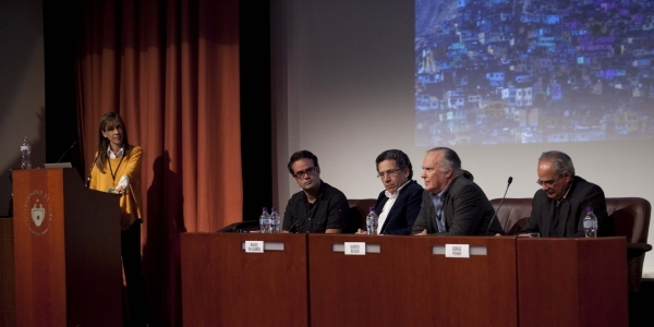 Silvio Medeiros y Miguel Villalobos con sus panelistas.