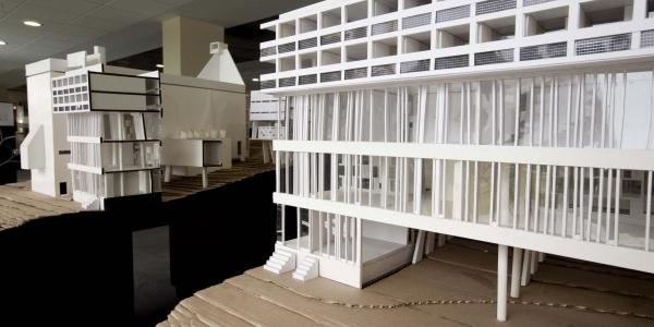 Homenaje al arquitecto le corbusier en edificio w - Arquitecto le corbusier ...