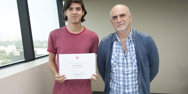 Jorge Filipo Gambini Cerrón y Ricardo Bedoya.