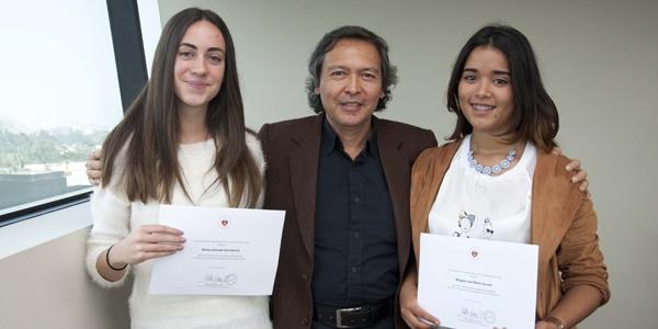 Melissa Schrader Hellenbroich, Giancarlo Carbone y Milagros Lizett Muñoz Guzmán.
