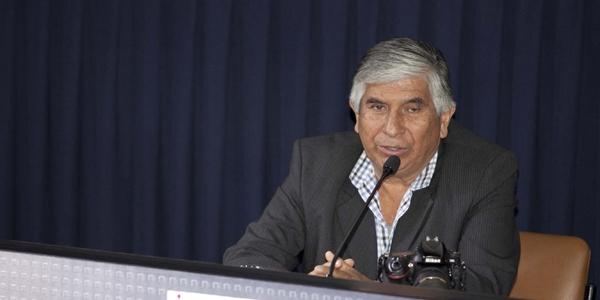 Óscar Medrano, fotógrafo de 'Caretas'.