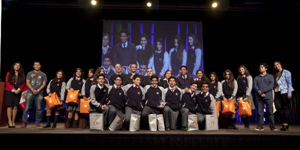El Colegio Winnetka obtuvo el primer lugar.