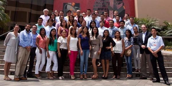 Los participantes de las maestrías de Derecho de la Ulima.
