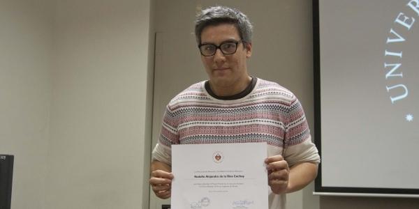 Rodolfo de la Riva Cachay, primer puesto en poesía.