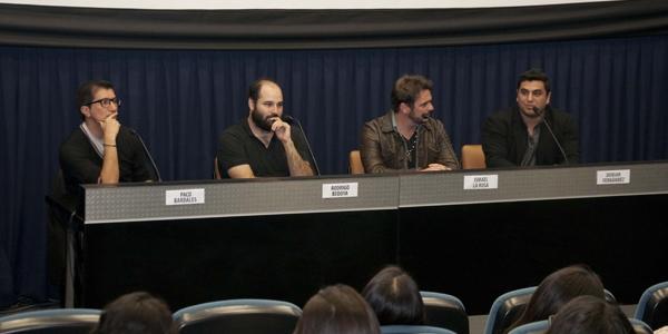 Paco Bardales, Rodrigo Bedoya Forno, Ismael La Rosa y Dorian Fernández.